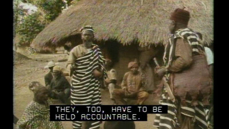 Still image from The Africans: A Triple Legacy--A Legacy Of Lifestyles