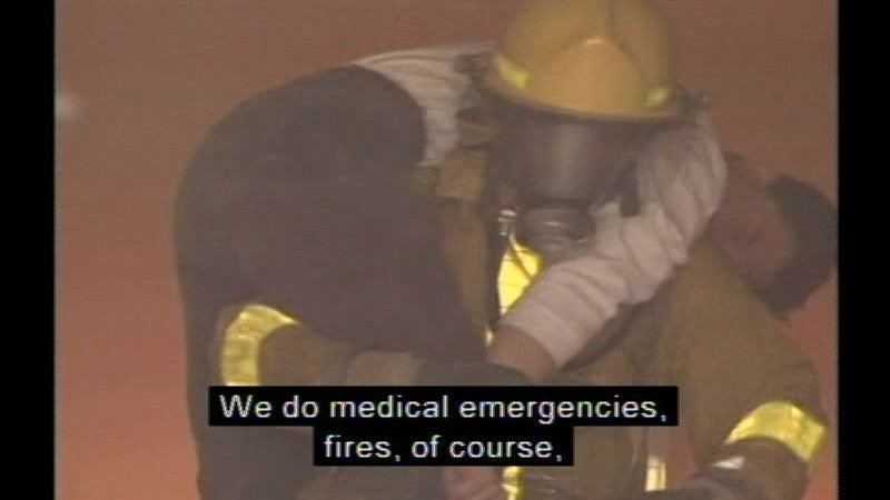 Still image from Career Options For Women: Rescue