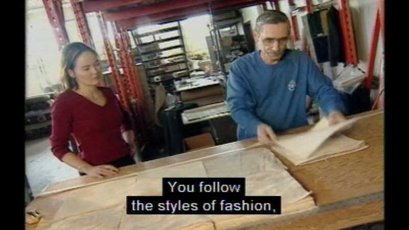Still image from Career Options For Women: Textiles
