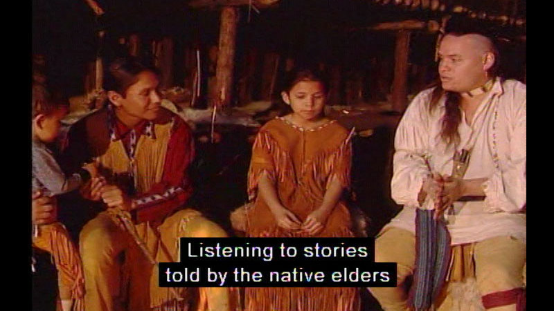 Still image from Comparing the Lives of Native Peoples