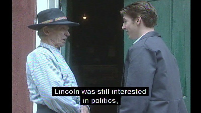 Still image from Abraham Lincoln: The Great Emancipator