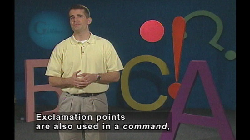 Still image from: End Punctuation