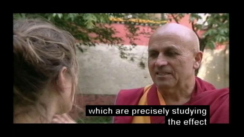 Still image from: Meditation