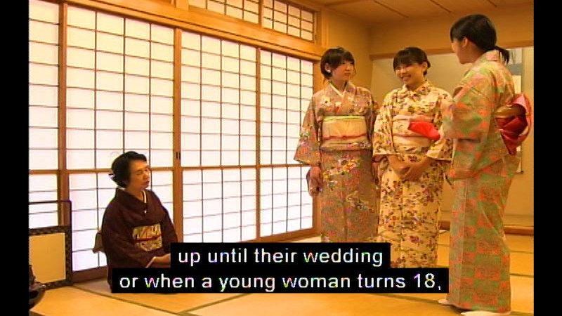 Still image from: Kimono