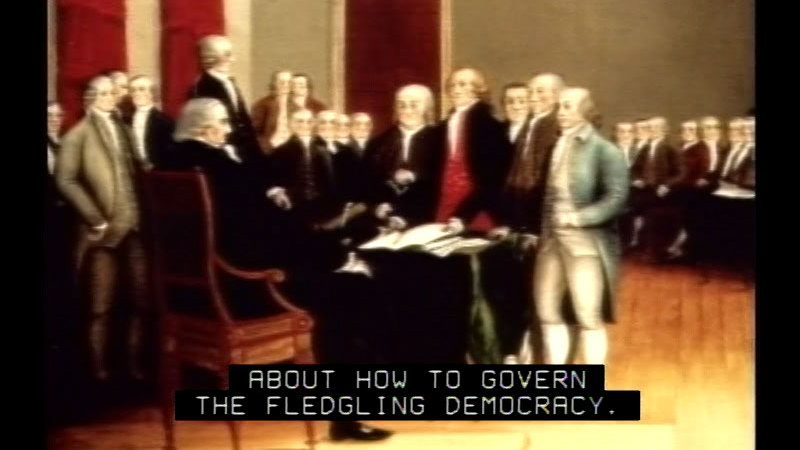 Still image from The Constitution: Fixed Or Flexible?