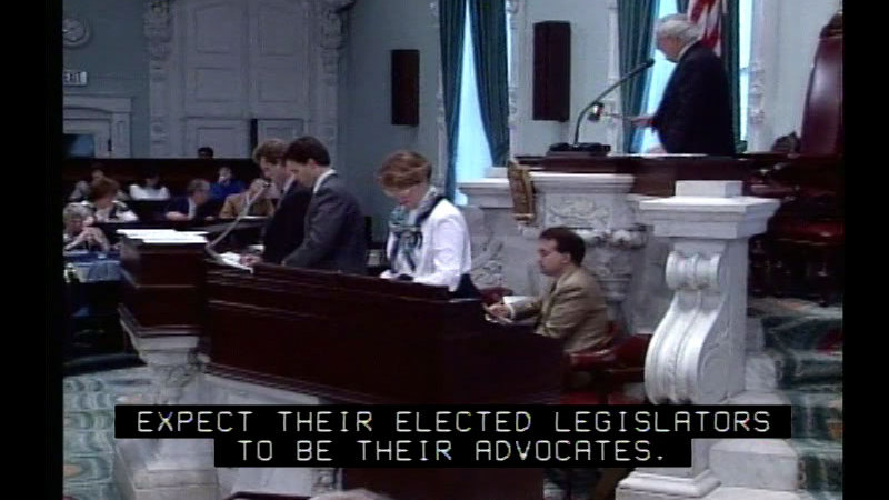 Still image from Legislatures: Laying Down The Law