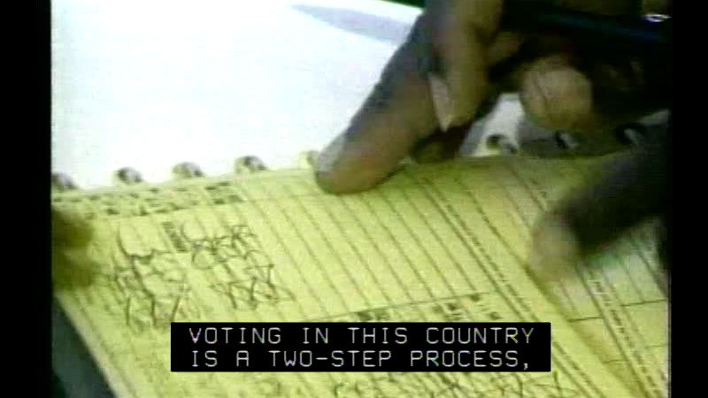 Still image from: Elections: The Maintenance Of Democracy