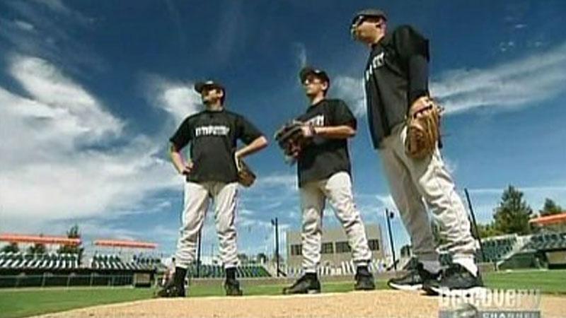 Still image from: Baseball Special