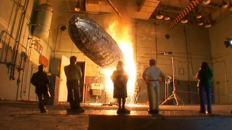Still image from: Hindenburg Mystery