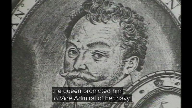 Still image from: Sir Francis Drake