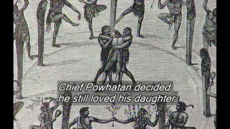 Still image from Pocahontas