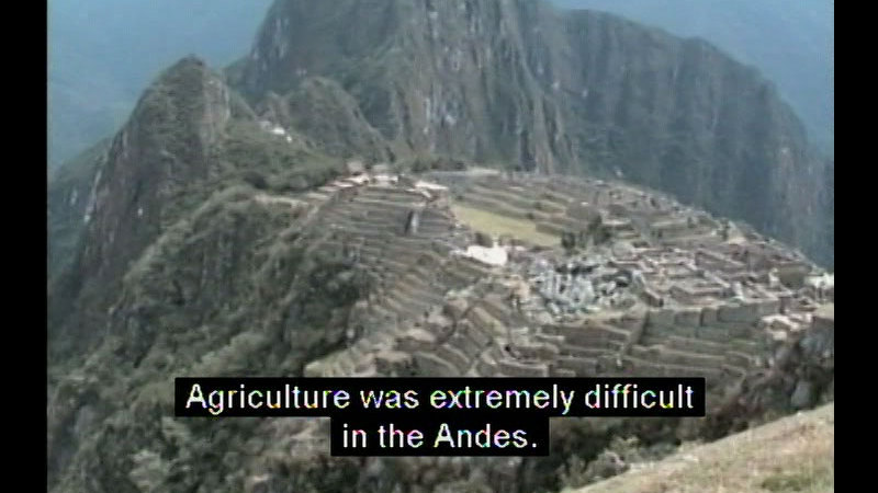 Still image from Empire Of The Incas