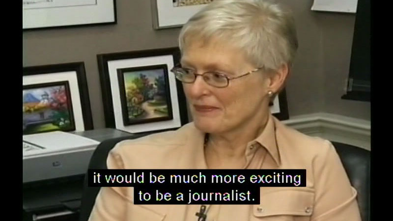 Still image from Real Life 101: Newspaper Editors