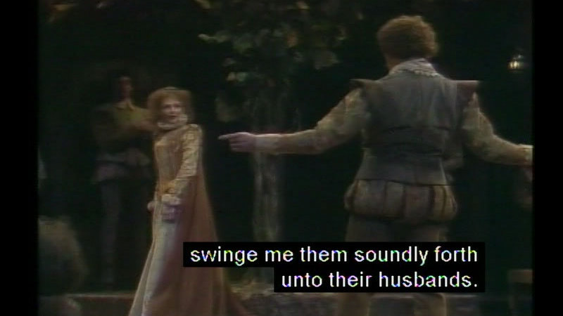Still image from The Taming Of The Shrew