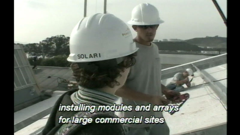 Still image from Clean Energy: Solar Power