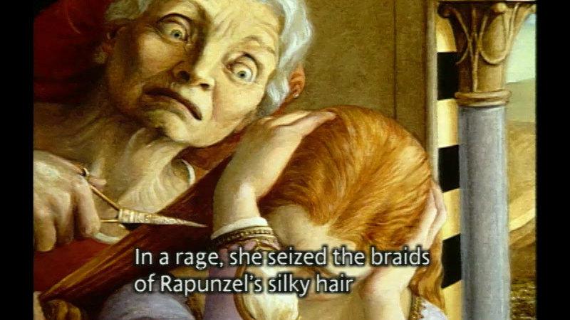 Still image from: Rapunzel