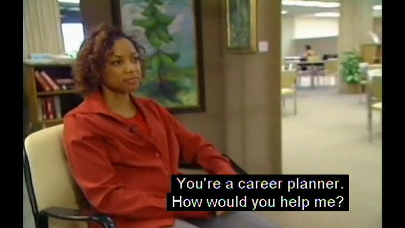 Still image from: Real Life 101: Vocational Training
