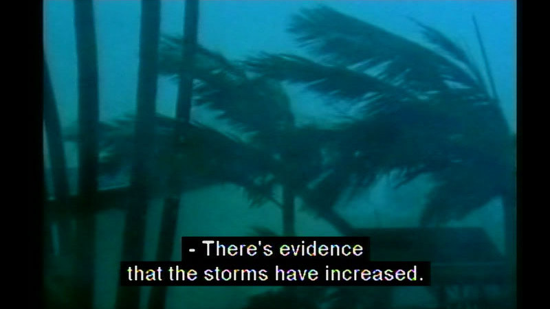 Still image from Climate Change: Classroom Video Issues 2