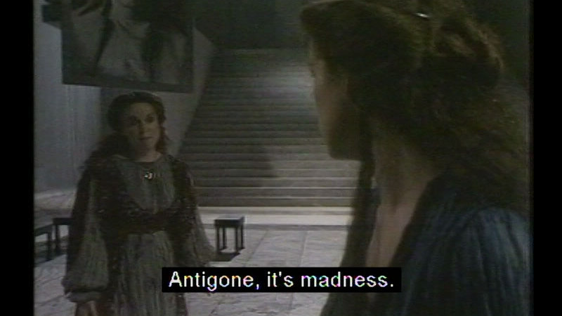 Still image from: The Theban Plays By Sophocles: Antigone