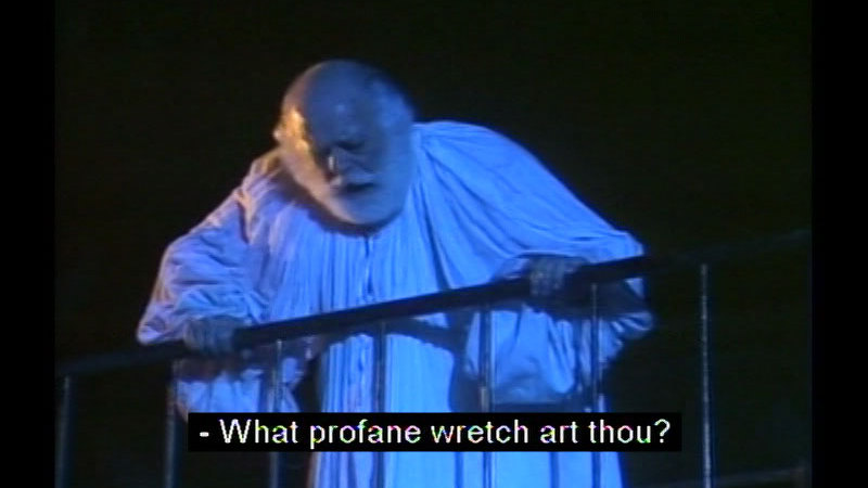Still image from Othello