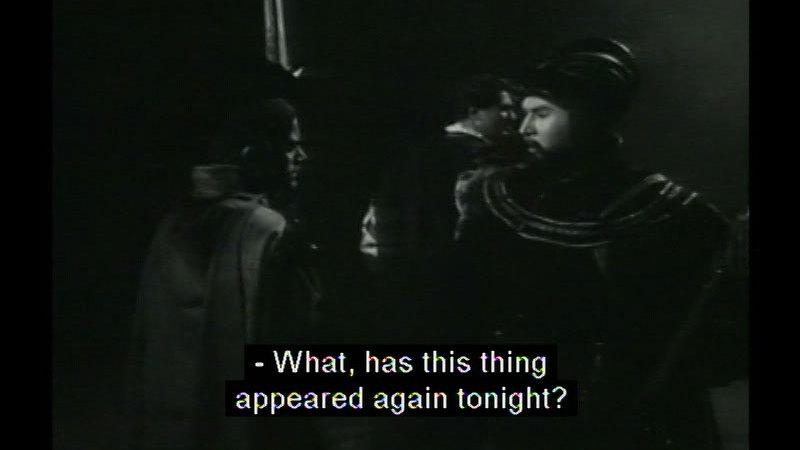 Still image from: Hamlet