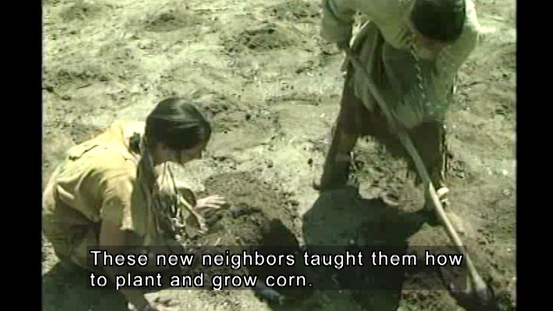 Still image from Our Early United States: Colonial Settlements (Video Quiz)