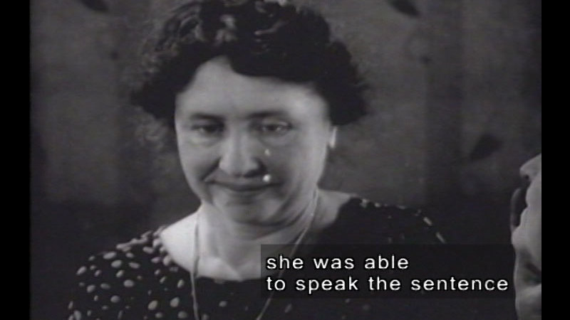 Still image from: Helen Keller And Anne Sullivan (1928 Newsreel Footage) & Helen Keller Meeting First Lady Grace Coolidge (1926 Newsreel Footage)