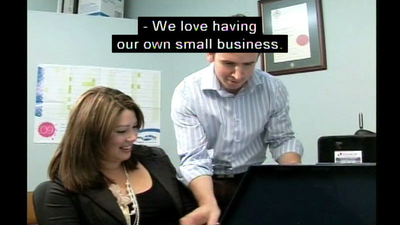 Still image from Small Business Management Series: The Business Plan