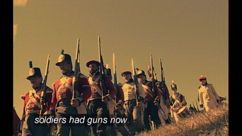Still image from Timeblazers:  A Soldier's Life
