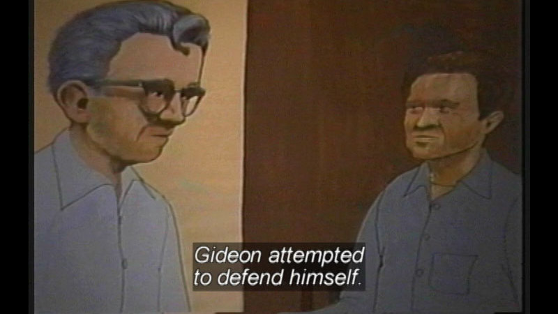 Still image from: Supreme Court Decisions That Changed The Nation: Gideon Vs. Wainwright & Miranda Vs. Arizona