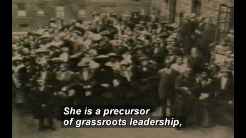 Still image from Ida B. Wells: Crusader For Human Rights
