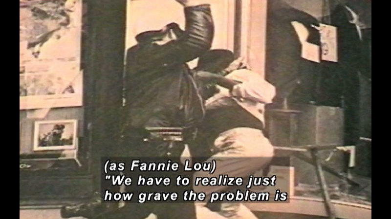Still image from Fannie Lou Hamer: Voting Rights Activist