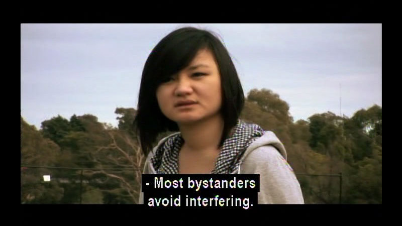 Still image from: Against Bullying Series #2: The Bystander