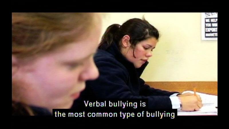 Still image from Against Bullying Series #1: Understanding Bullying