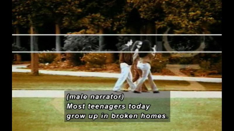 Still image from: Real Life Teens: Broken Homes