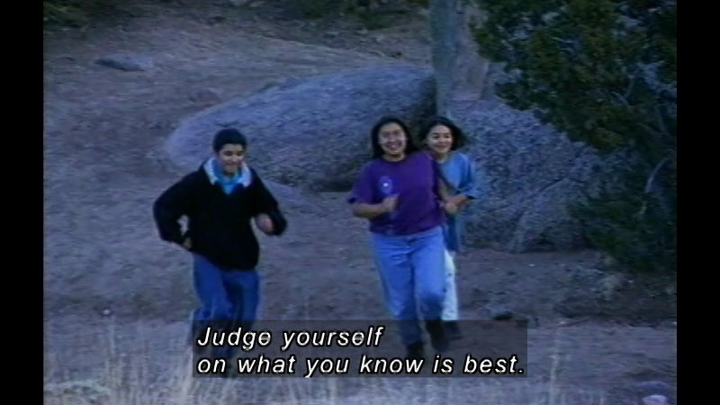 Still image from: Self-Esteem For Native American Students