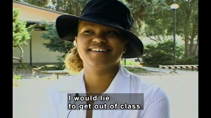 Still image from: Real Life Teens: Ethics In School