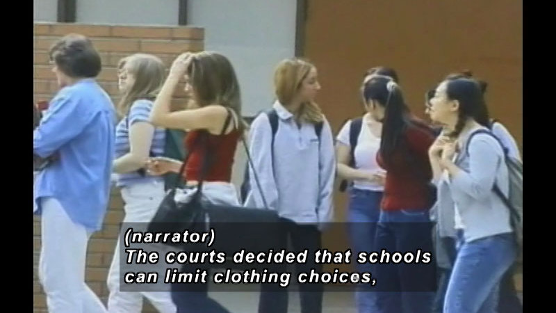 Still image from: Real Life Teens: Your Bill Of Rights At School