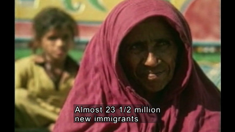 Still image from: Multicultural America For Students: U.S. Immigrants