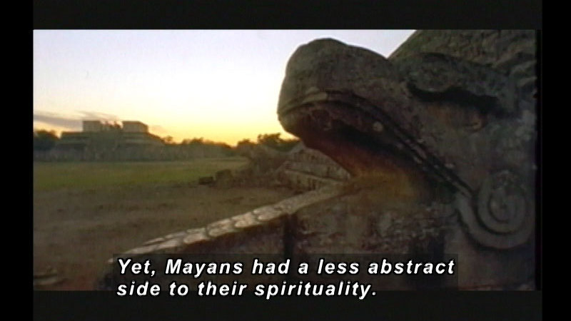 Still image from: Mayans: Deception By Temple Rituals