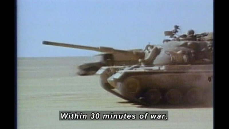 Still image from Yom Kippur War: 1973