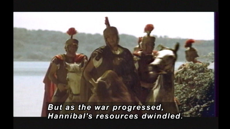 Still image from Phoenicians: The Alphabet And Carthage's Hannibal