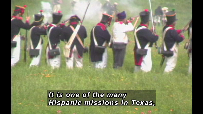 Still image from: A History of Hispanic Achievement in America: Hispanics Become United States Citizens