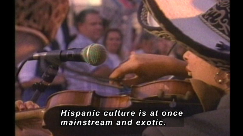 Still image from: A History of Hispanic Achievement in America: Emergence of a Unique Hispanic Culture