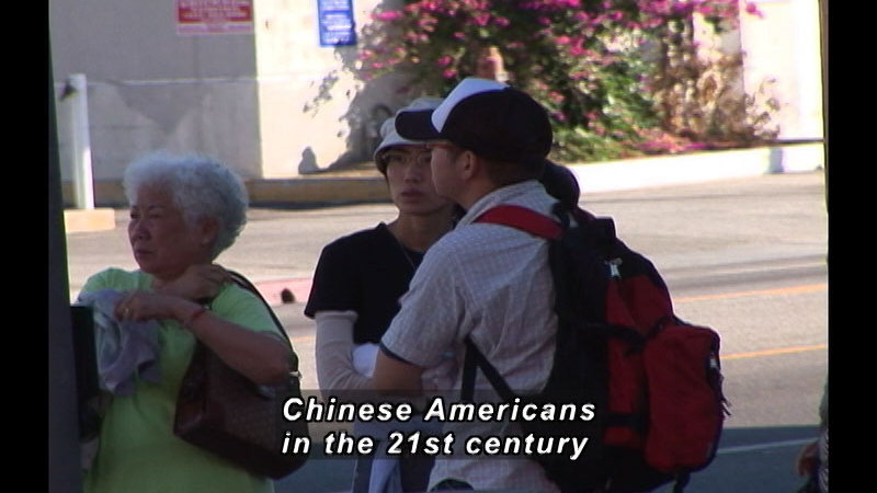 Still image from: A History Of Chinese American Achievement In The United States: Exclusion And Acceptance