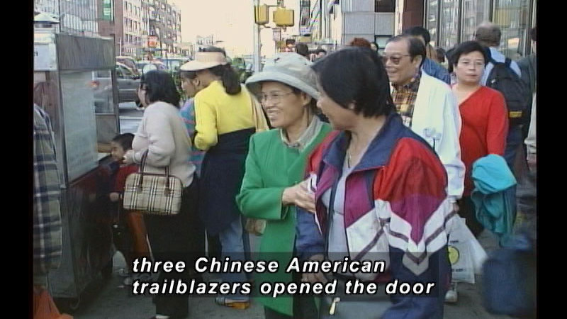 Still image from: A History Of Chinese American Achievement In The United States: The Chinese American Super Achievers