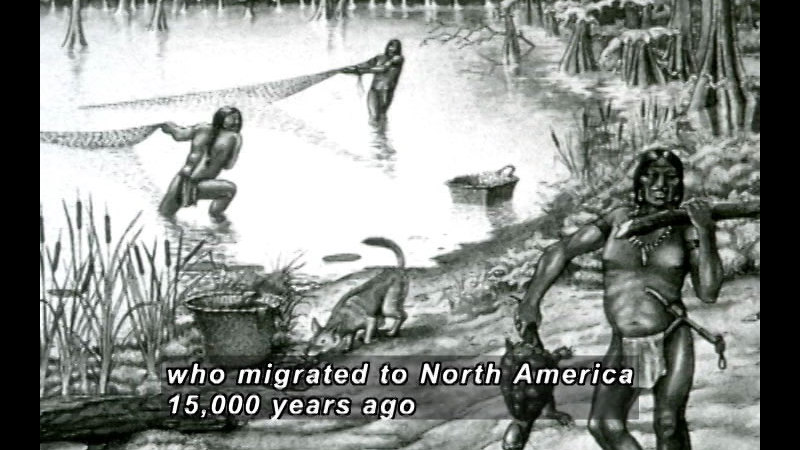 Still image from: A History Of American Indian Achievement: The Golden Age Of Ancient American Indians