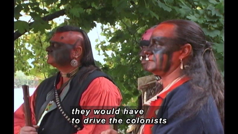 Still image from: A History Of American Indian Achievement: Resistance And Acceptance