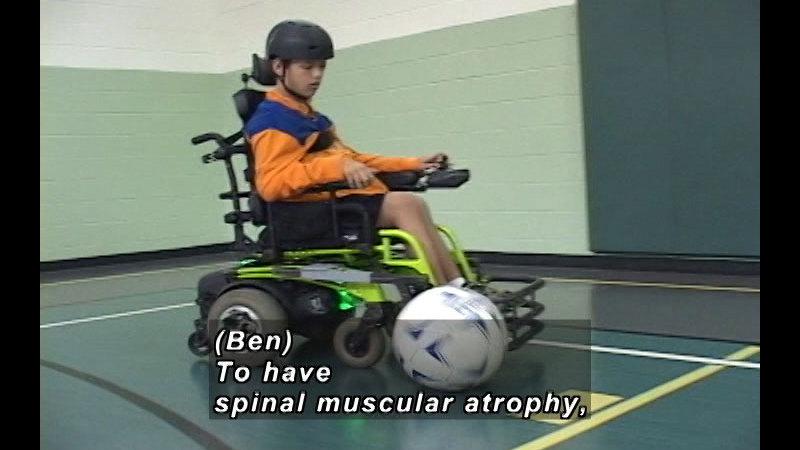 Still image from Goals And Determination: Ben's Inner Strength
