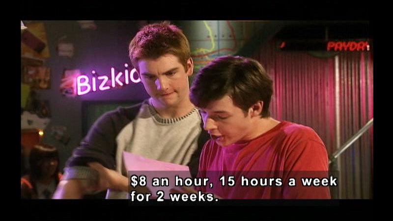 Still image from Biz Kid$: Understanding Your Paycheck